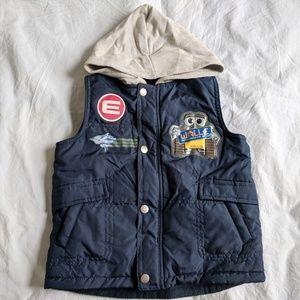 Like new Wall Disney pixel boy vest size 4T